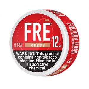FRE Non-Tobacco Nicotine Pouches - Mocha - Single / 12mg