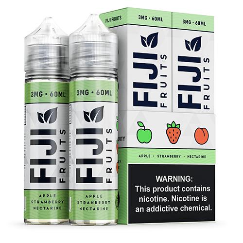 Fiji Fruits eJuice - Apple Strawberry Nectarine - 2x60ml / 3mg