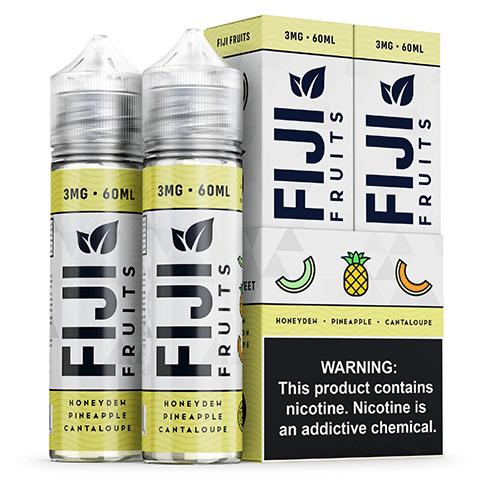 Fiji Fruits eJuice - Honeydew Pineapple Cantaloupe - 2x60ml / 6mg