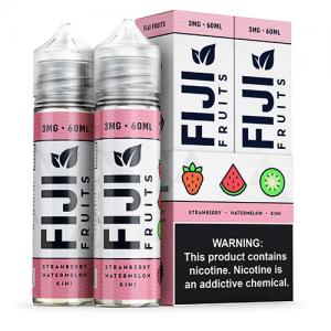 Fiji Fruits eJuice - Strawberry Watermelon Kiwi - 2x60ml / 3mg