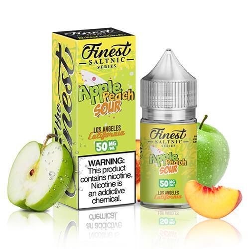 Finest SaltNic Series - Apple Peach Sour - 30ml / 50mg