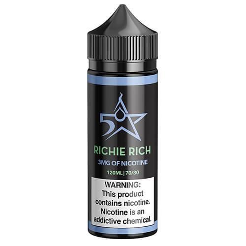 Five Star Juice - Richie Rich - 120ml / 3mg