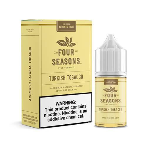 Four Seasons - Turkish Tobacco - 30ml / 18mg