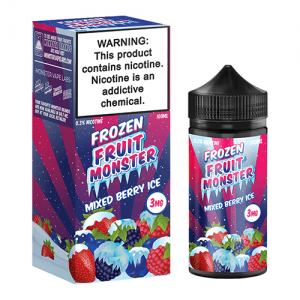 Frozen Fruit Monster eJuice - Mixed Berry Ice - 100ml / 0mg
