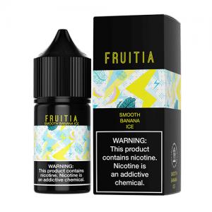 Fruitia eJuice SALTS - Smooth Banana Ice - 30ml / 50mg