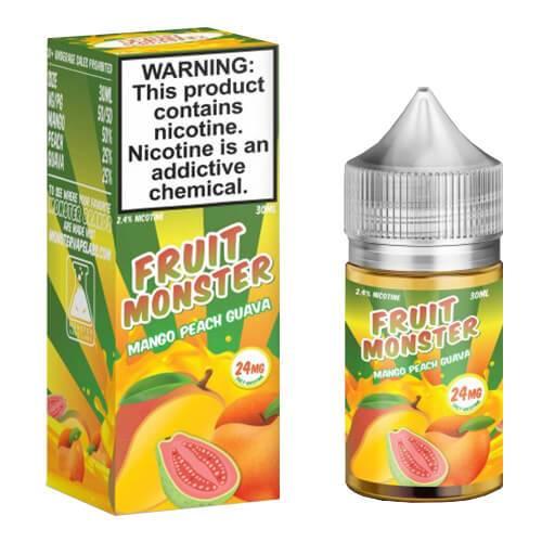 Fruit Monster eJuice - Mango Peach Guava - 100ml / 3mg