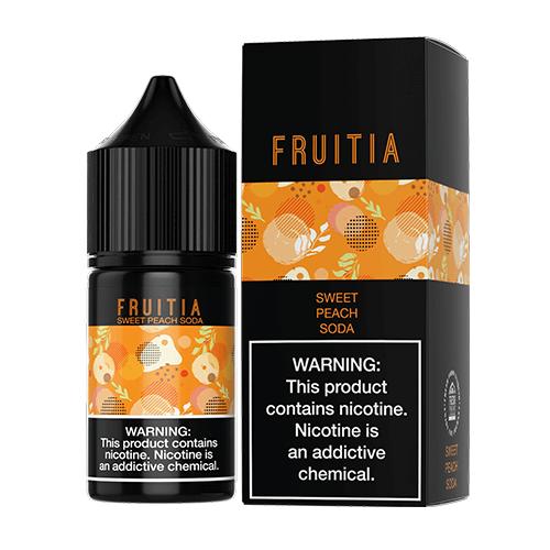 Fruitia eJuice SALTS - Sweet Peach Soda - 30ml / 50mg