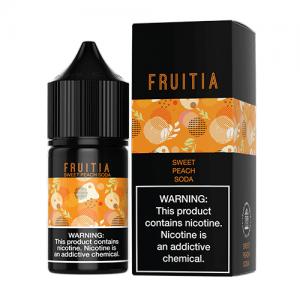 Fruitia eJuice SALTS - Sweet Peach Soda - 30ml / 35mg