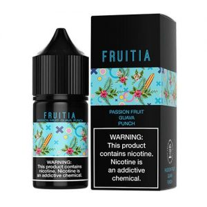 Fruitia eJuice SALTS - Passion Guava Punch - 30ml / 35mg