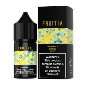 Fruitia eJuice SALTS - Pineapple Citrus Twist - 30ml / 50mg