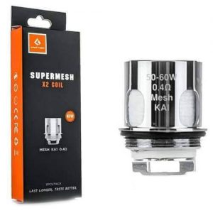 GeekVape Super Mesh Coils (5 Pack) - X2 0.4ohm