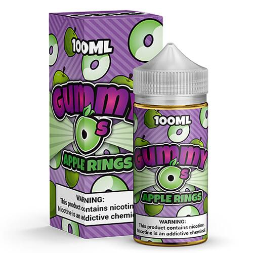Gummy O's by Shijin Vapor - Apple Rings - 100ml / 0mg
