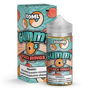 Gummy O's by Shijin Vapor - Peach Rings - 100ml / 6mg