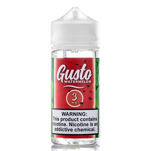Gusto eJuice - Watermelon - 100ml / 0mg