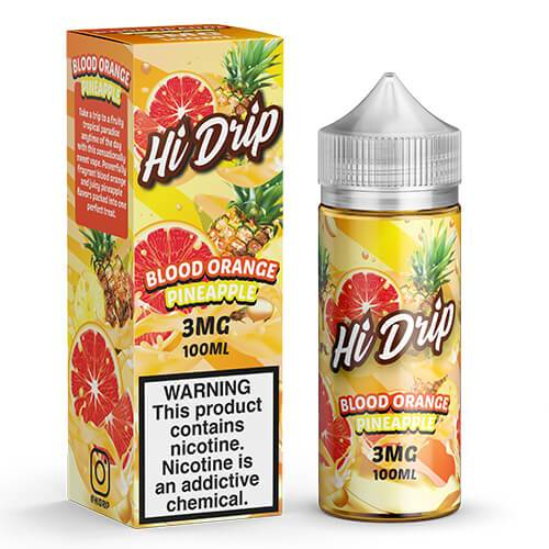 Hi Drip eJuice - Blood Orange Pineapple - 100ml / 3mg
