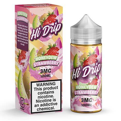 Hi Drip eJuice - Honeydew Strawberry - 100ml / 3mg