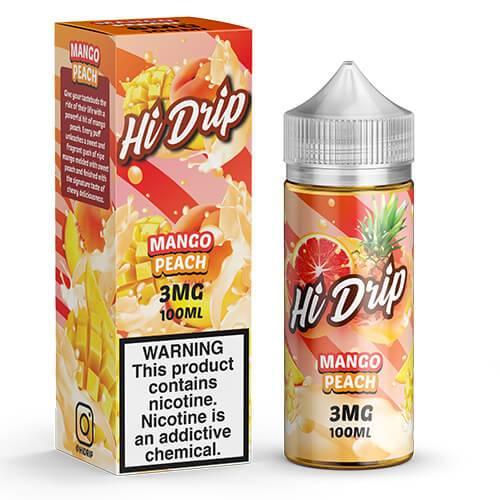 Hi Drip eJuice - Mango Peach - 100ml / 0mg