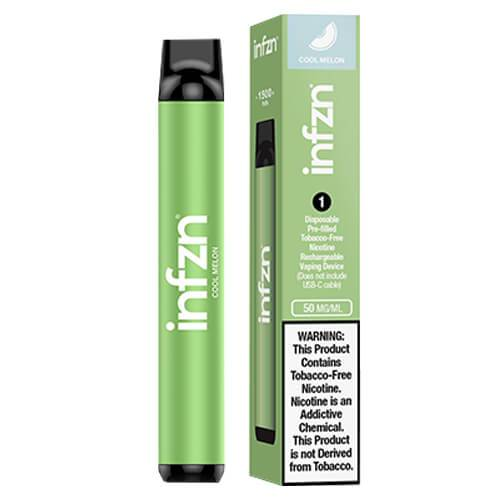 INFZN by Brewell - Disposable Vape Device - Cool Melon - Single / 50mg