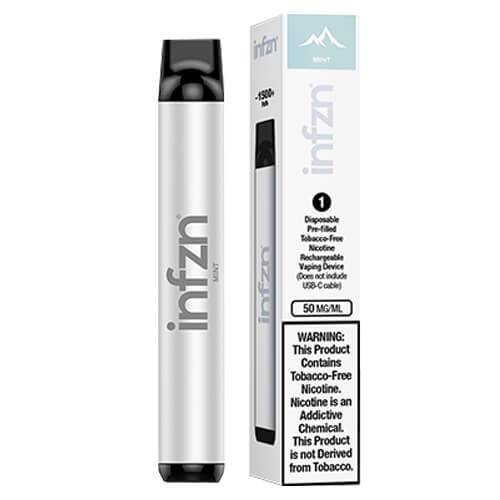 INFZN by Brewell - Disposable Vape Device - Mint - Single / 50mg