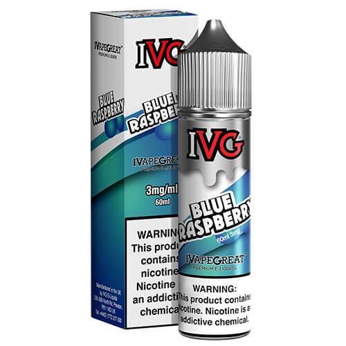 IVG Premium E-Liquids - Blue Raspberry - 60ml / 0mg