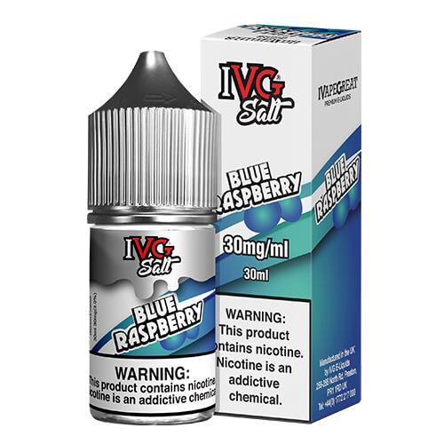 IVG Premium E-Liquids Salts - Blue Raspberry - 30ml / 30mg