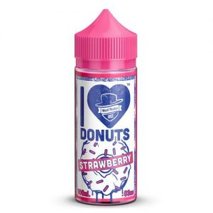 Mad Hatter Juice - I Love Donuts Strawberry - 100ml / 0mg