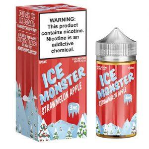 Jam Monster Ice eJuice - Strawmelon Apple - 100ml / 6mg