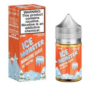 Jam Monster eJuice ICE SALT - Mangerine Guava Ice - 30ml / 24mg