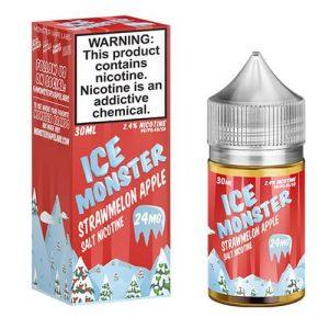 Jam Monster eJuice ICE SALT - Strawmelon Apple Ice - 30ml / 24mg