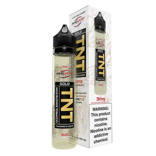 Innevape eLiquids - TNT (The Next Tobacco) Gold - 75ml / 3mg
