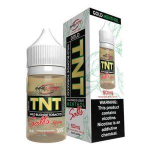 Innevape eLiquids Salts - TNT (The Next Tobacco) Gold Menthol - 30ml / 50mg