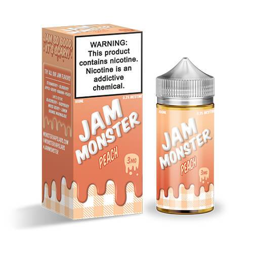 Jam Monster eJuice - Peach - 100ml / 3mg