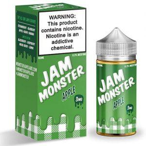 Jam Monster eJuice - Apple - 100ml / 0mg