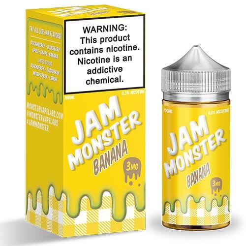 Jam Monster eJuice - Banana - 100ml / 3mg