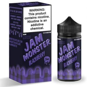 Jam Monster eJuice - Blackberry (Limited Edition) - 100ml / 0mg