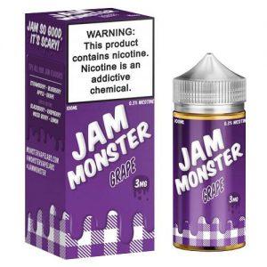 Jam Monster eJuice - Grape - 100ml / 6mg
