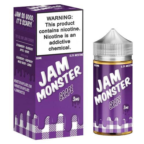 Jam Monster eJuice - Grape - 100ml / 0mg