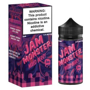 Jam Monster eJuice - Mixed Berry - 100ml / 3mg