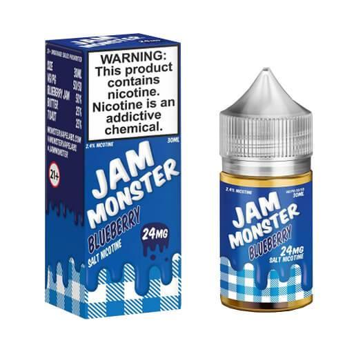 Jam Monster eJuice SALT - Blueberry - 30ml / 24mg