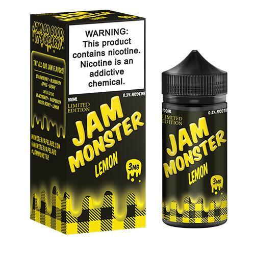Jam Monster eJuice - Lemon (Limited Edition) - 100ml / 3mg
