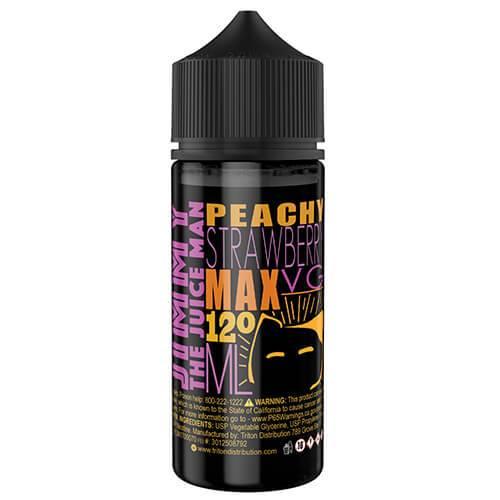 Jimmy The Juice Man - Peachy Strawberry - 120ml / 0mg