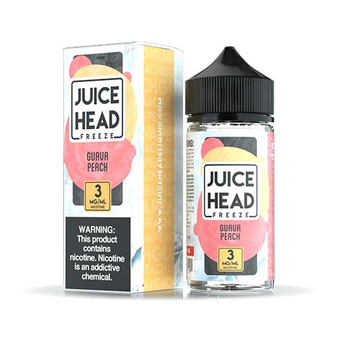 Juice Head Freeze Series - Guava Peach eJuice - 100ml / 6mg