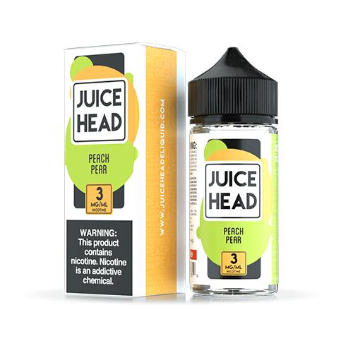 Juice Head - Peach Pear eJuice - 100ml / 6mg