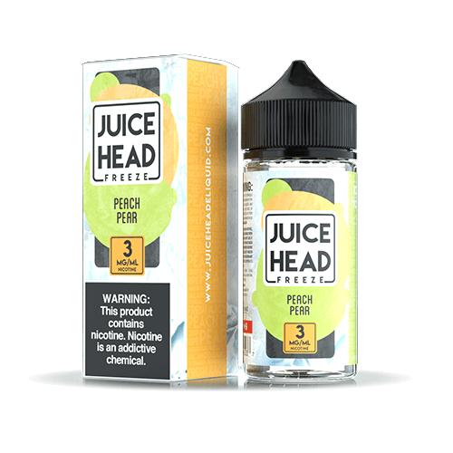 Juice Head Freeze Series - Peach Pear - 100ml / 6mg