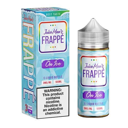Juice Man USA E-Juice - Frappe on ICE - 100ml / 3mg