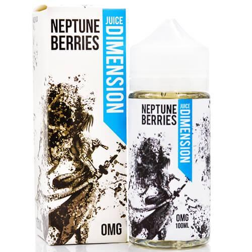 Juice Dimension eLiquid - Neptune Berries - 100ml / 0mg