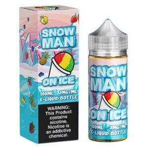 Juice Man USA E-Juice - Snow Man on Ice - 100ml / 3mg