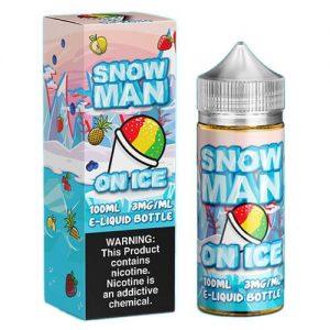 Juice Man USA E-Juice - Snow Man on Ice - 100ml / 0mg
