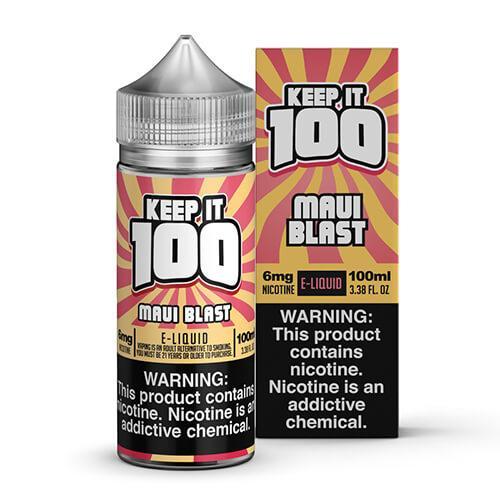 Keep It 100 E-Juice - Maui (Tropical) Blast - 100ml / 6mg