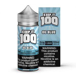 Keep It 100 E-Juice - OG Blue (Slushie) - 100ml / 6mg